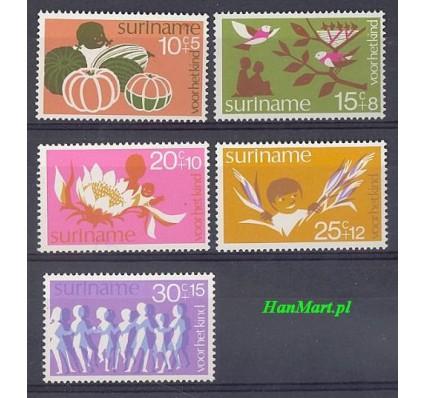 Znaczek Surinam 1974 Mi 682-686 Czyste **