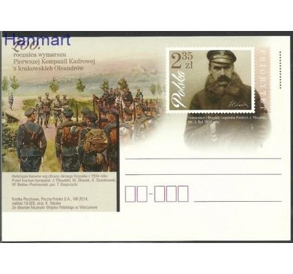 Znaczek Polska 2014 Fi Cp 1680 Całostka pocztowa