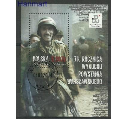 Znaczek Polska 2014 Mi bl 229 Fi bl 264 Stemplowane