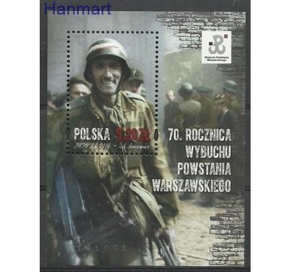 Znaczek Polska 2014 Mi bl 229 Fi bl 264 Czyste **
