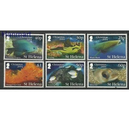 Znaczek Wyspa św. Heleny 2014 Mi 1196-1201 Czyste **