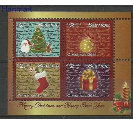 Znaczek Samoa 2014 Mi bl 93 Czyste **