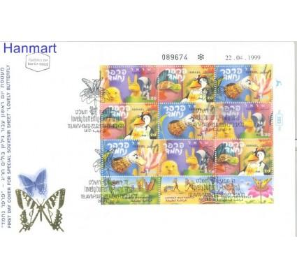 Znaczek Izrael 1999 Mi 1521-1523 FDC