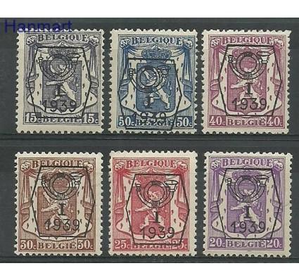 Znaczek Belgia 1939 Mi pre 405-410 Czyste **