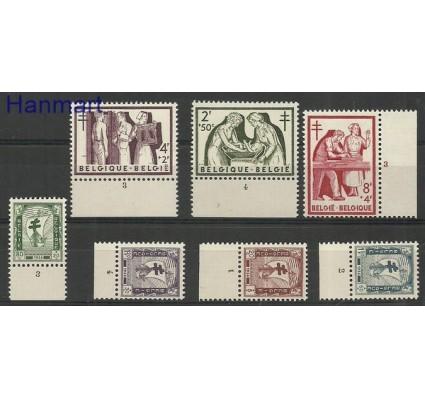 Znaczek Belgia 1956 Mi zf 1047-1053 Czyste **