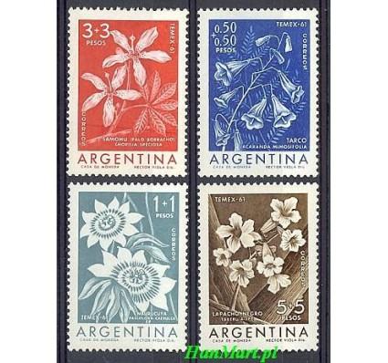 Znaczek Argentyna 1960 Mi 754-757 Czyste **