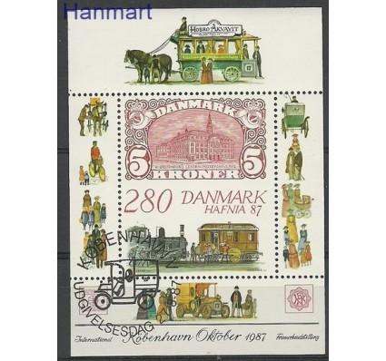 Znaczek Dania 1987 Mi bl 7 Stemplowane