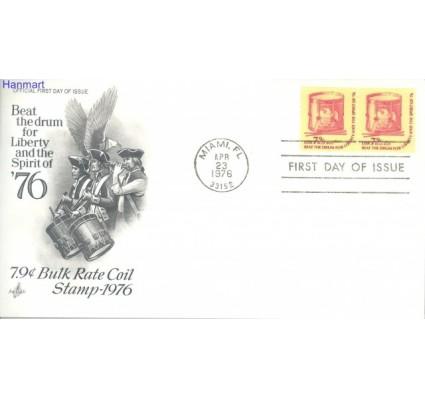 Znaczek USA 1976 Mi par 1256 FDC