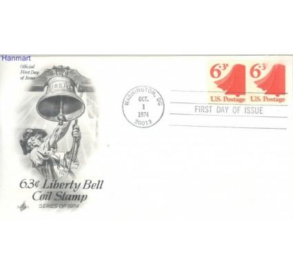 Znaczek USA 1974 Mi par 1157 FDC