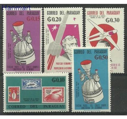 Znaczek Paragwaj 1966 Mi 1559-1563 Czyste **