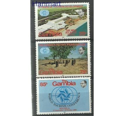 Znaczek Gambia 1981 Mi 418-420 Czyste **