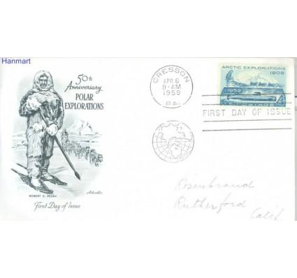 Znaczek USA 1959 Mi adr 751 FDC