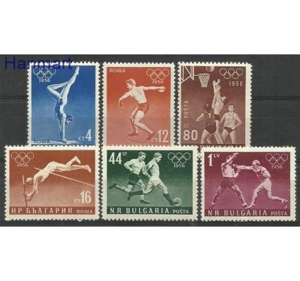 Znaczek Bułgaria 1956 Mi 996-1001 Czyste **