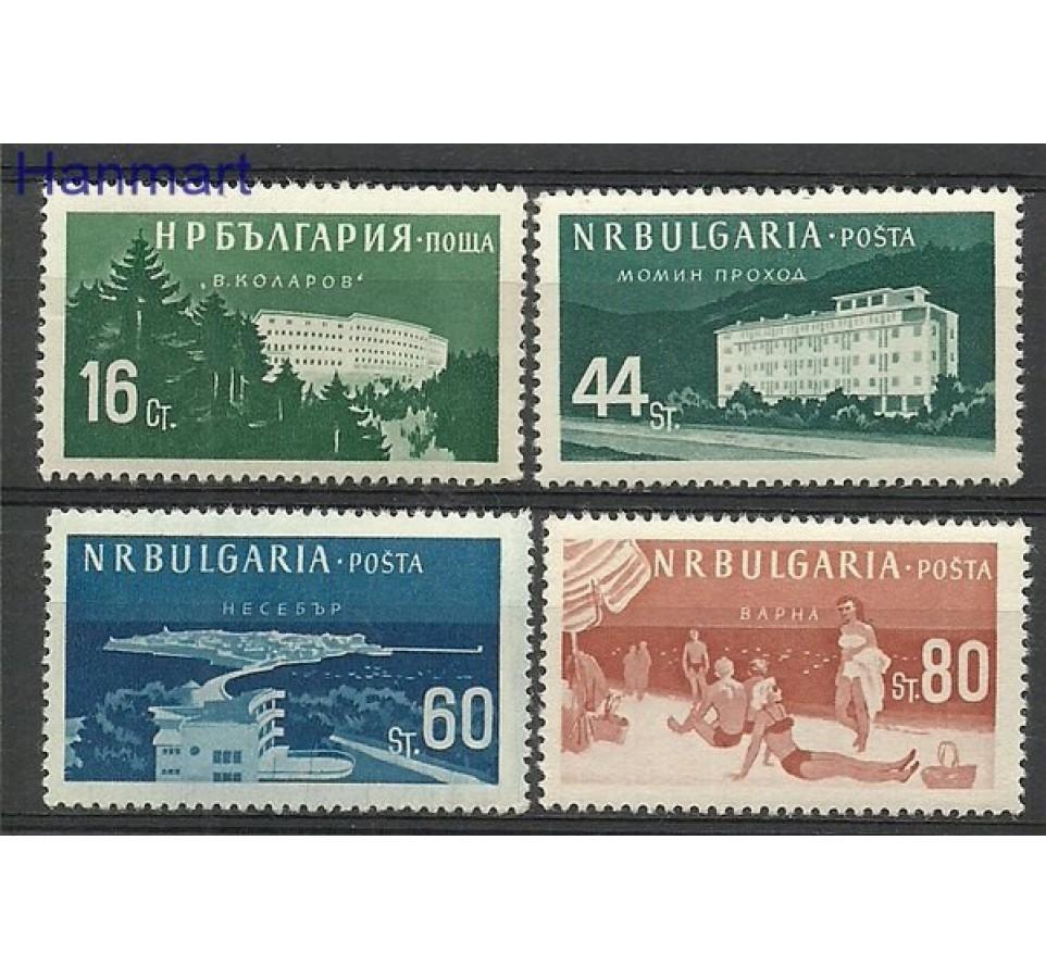 Bułgaria 1958 Mi 1048-1051 Czyste **