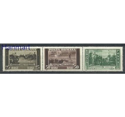 Znaczek Rumunia 1939 Mi 583-585 Czyste **