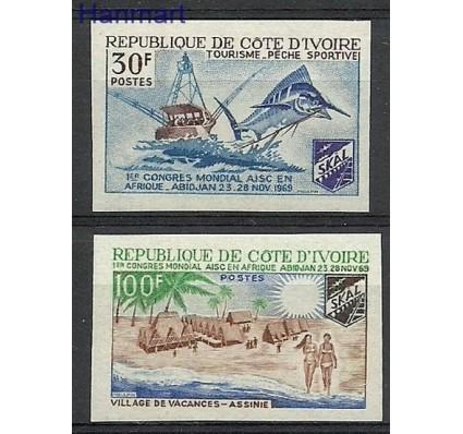 Znaczek Wybrzeże Kości Słoniowej 1969 Czyste **