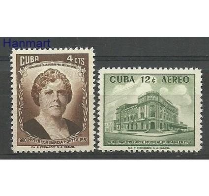 Znaczek Kuba 1959 Mi 631-632 Czyste **