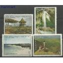 Kuba 1966 Mi 1136-1139 Czyste **