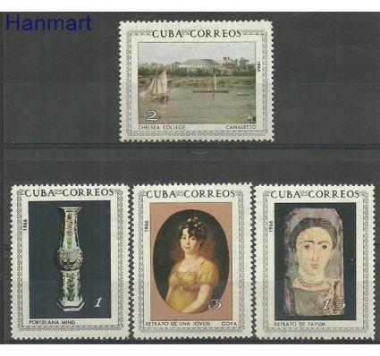 Znaczek Kuba 1966 Mi 1149-1152 Czyste **