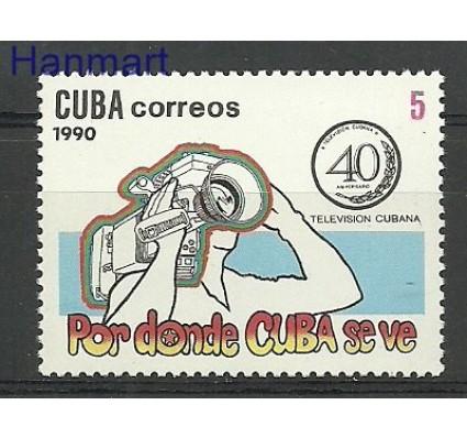 Znaczek Kuba 1990 Mi 3416 Czyste **