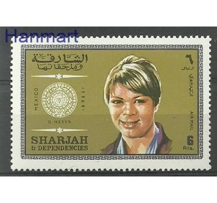 Znaczek Sharjah 1969 Mi 538 Czyste **