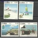 Kuba 1991 Mi 3500-3503 Czyste **