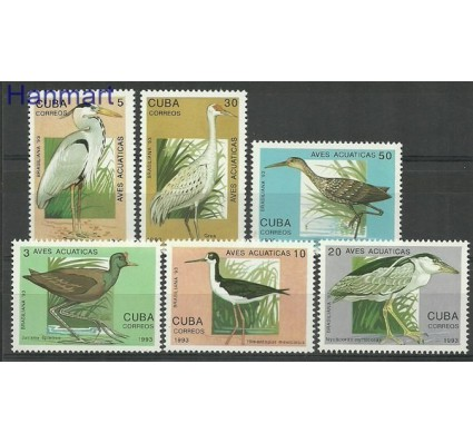 Znaczek Kuba 1993 Mi 3683-3688 Czyste **