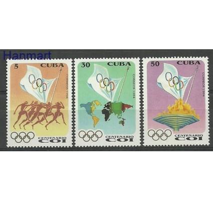 Znaczek Kuba 1994 Mi 3755-3757 Czyste **