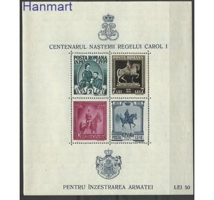 Znaczek Rumunia 1939 Mi bl 6 Czyste **