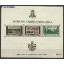 Rumunia 1939 Mi bl 4 Czyste **