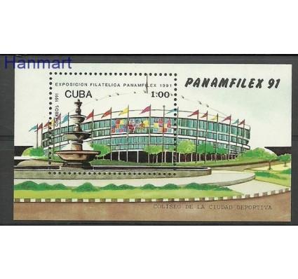 Znaczek Kuba 1991 Mi bl 124 Czyste **