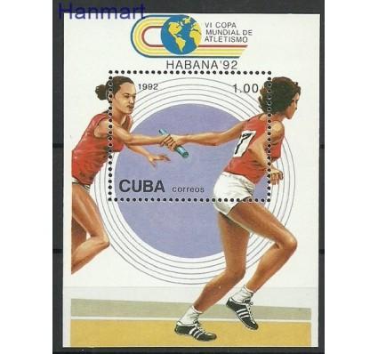 Znaczek Kuba 1992 Mi bl 130 Czyste **