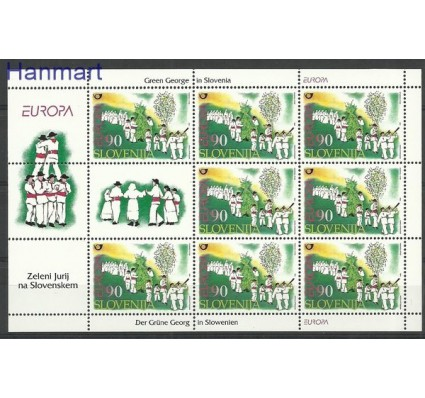 Znaczek Słowenia 1998 Mi ark 225 Czyste **