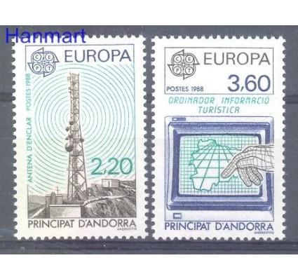 Znaczek Andora Francuska 1998 Mi 390-391 Czyste **