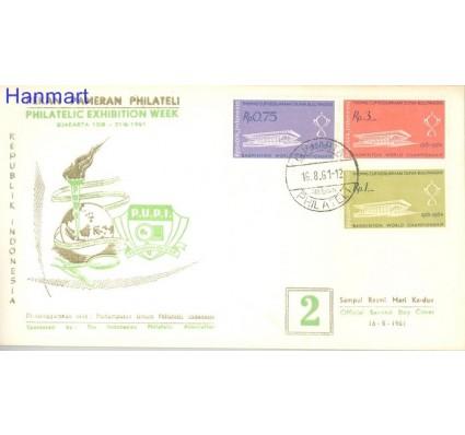 Znaczek Indonezja 1961 FDC