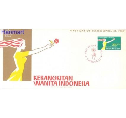 Znaczek Indonezja 1969 Mi 636 FDC