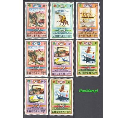 Znaczek Bhutan 1974 Mi 592-599 Czyste **