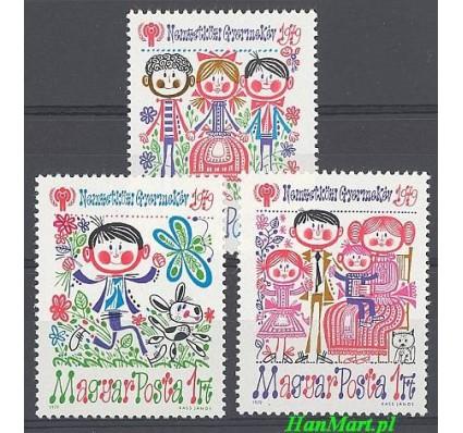 Znaczek Węgry 1979 Mi 3335-3337 Czyste **