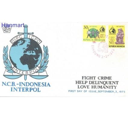 Znaczek Indonezja 1973 Mi 738-739 FDC