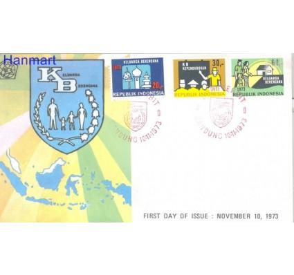 Znaczek Indonezja 1973 Mi 744-746 FDC