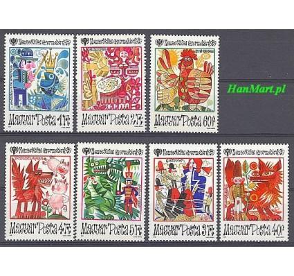 Znaczek Węgry 1979 Mi 3397-3403 Czyste **