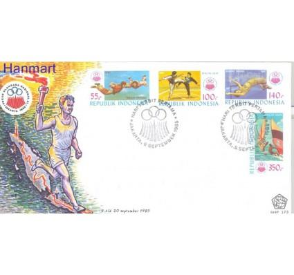Znaczek Indonezja 1985 Mi 1177-1180 FDC