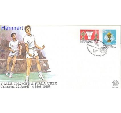 Znaczek Indonezja 1986 Mi 1196-1197 FDC