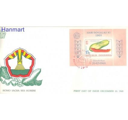 Znaczek Indonezja 1968 Mi bl 13 FDC