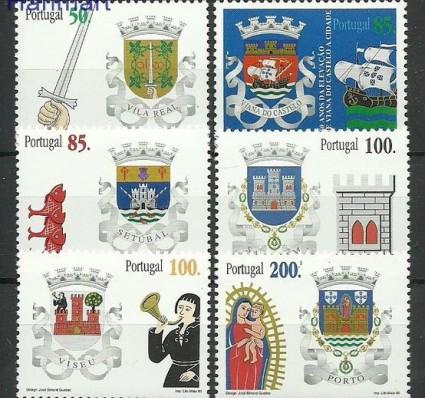 Znaczek Portugalia 1998 Mi 2283-2288 Czyste **