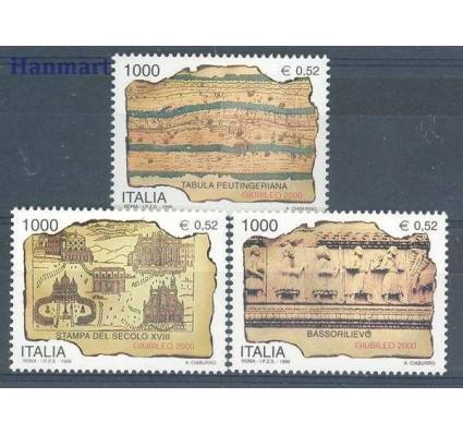 Znaczek Włochy 1999 Mi 2660-2662 Czyste **