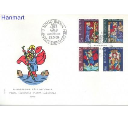 Szwajcaria 1969 Mi 902-905 FDC