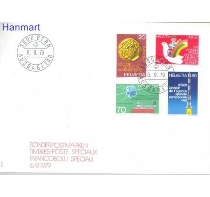 Znaczek Szwajcaria 1979 Mi 1161-1164 FDC