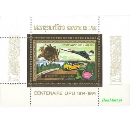 Znaczek Laos 1975 Mi bl 63 Czyste **