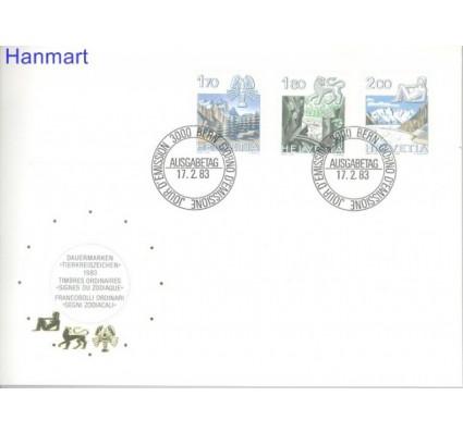 Znaczek Szwajcaria 1983 Mi 1242-1244 FDC